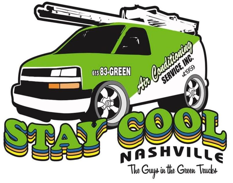 HVAC Experts in the Green Vans & Trucks for Nashville HVAC Install, HVAC Repair, and Duct Cleaning