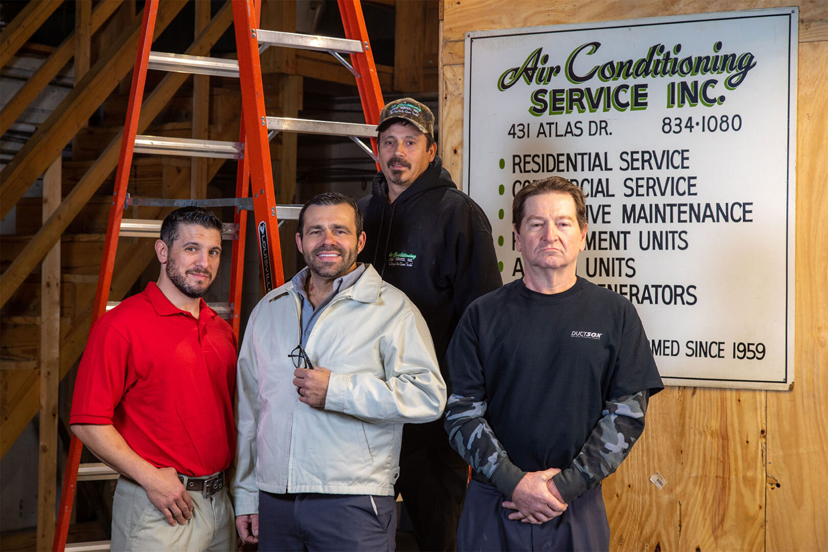 Team of HVAC Experts at Nashville Air Conditioning Service for heating and air conditioning